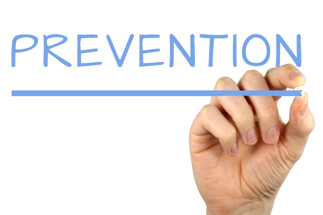 prevention hand drawing