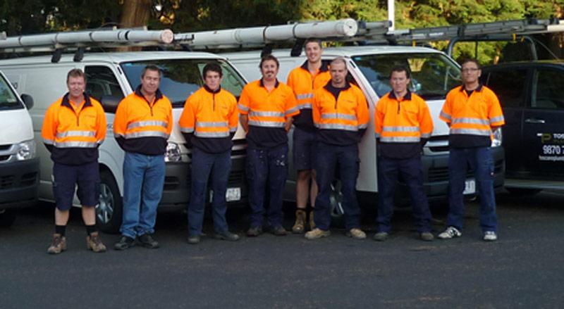 toscano plumbing team
